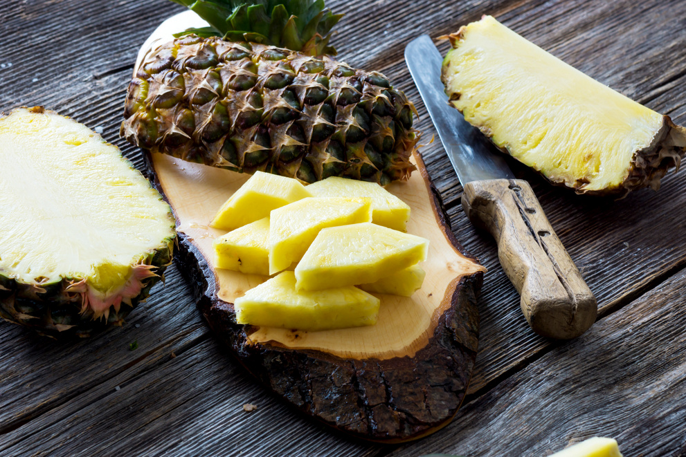 pineapple for glowing skin