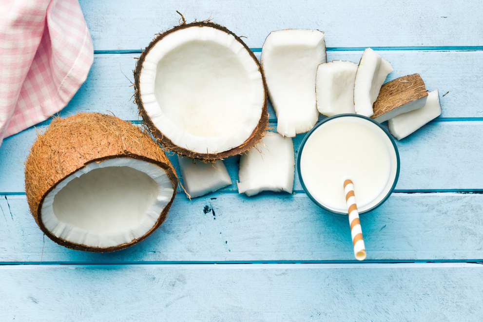 coconut for glowing skin