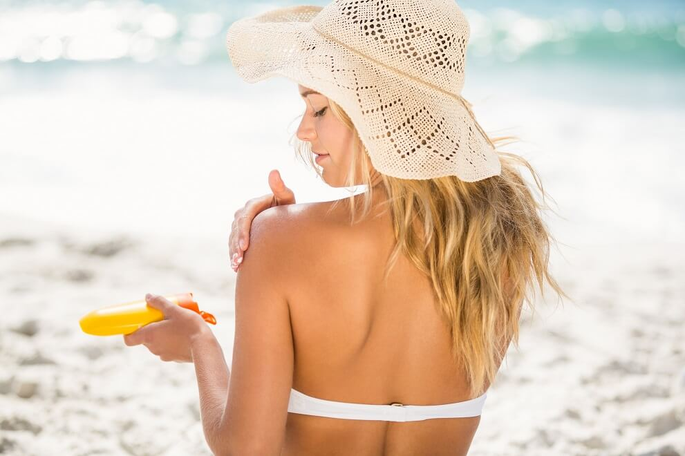 natural sunscreen floppy hat