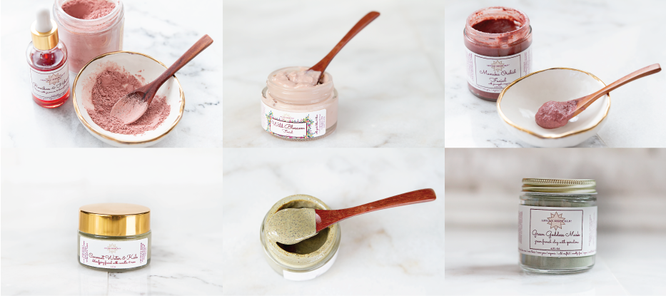 Argan Republic Clay Masks