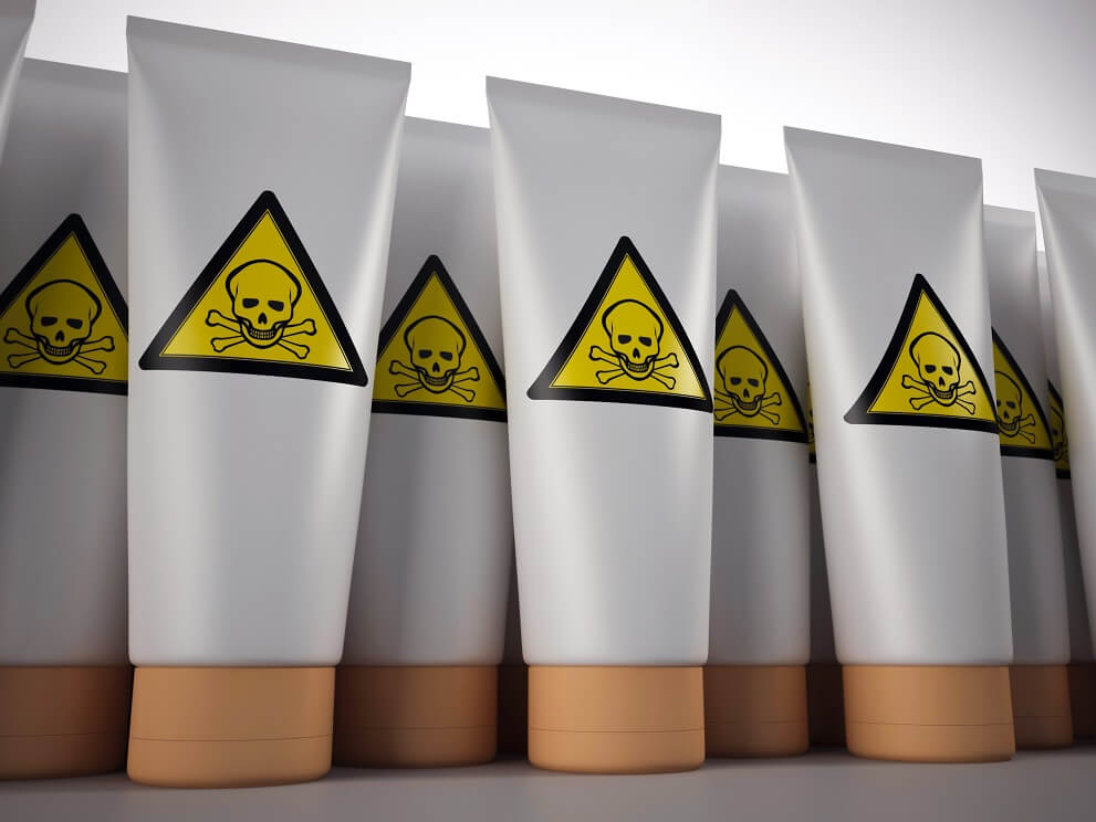 toxic skin care products