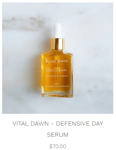 vital dawn defensive day serum